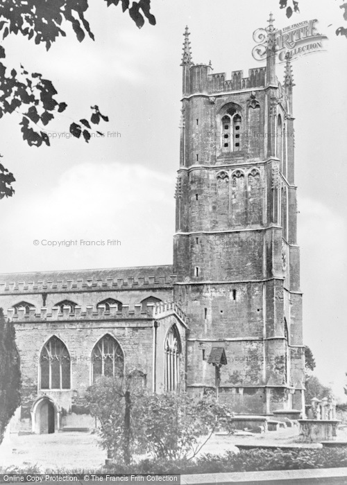 Photo of Wotton Under Edge, Church Of St Mary The Virgin c.1950