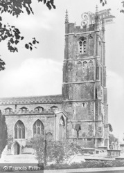 Wotton-Under-Edge, Church Of St Mary The Virgin c.1950