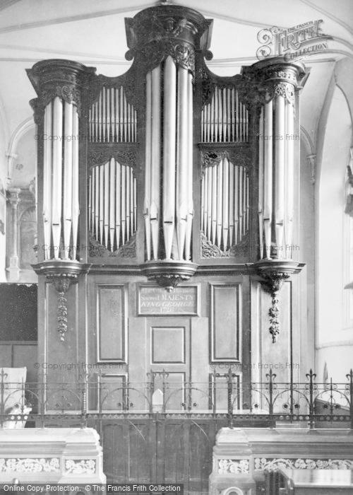 Photo of Wotton Under Edge, Church Organ c.1950