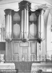 Wotton-Under-Edge, Church Organ c.1950