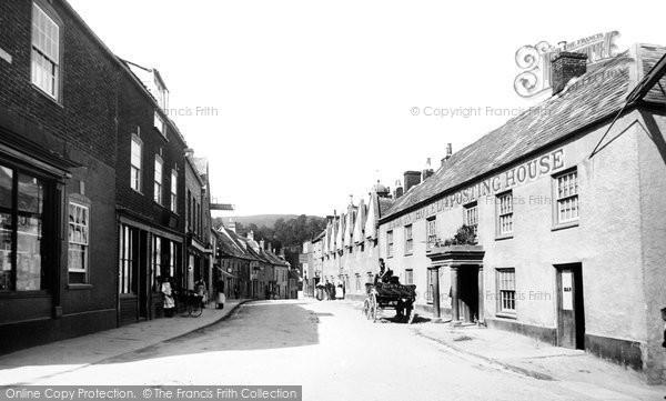 Photo of Wotton Under Edge, Church Street 1897