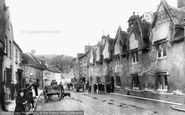Photo of Wotton Under Edge, Church Street 1900