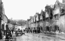 Wotton-Under-Edge, Church Street 1900