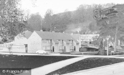 Wotton-Under-Edge, Corner Of Parklands c.1950