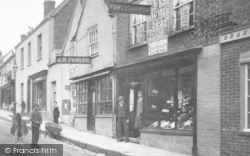 Wotton-Under-Edge, Fowles Outfitter, Long Street 1900