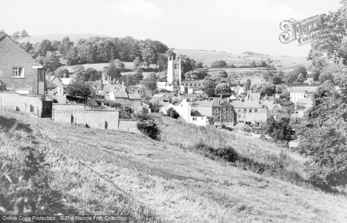 Photo of Wotton Under Edge, From Brown's Piece c.1950