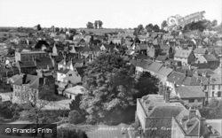 From Church Tower c.1950, Wotton-Under-Edge
