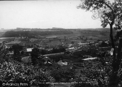 Wotton-Under-Edge, From Wotton Hill 1903