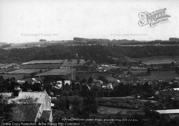 Photo of Wotton Under Edge, From Wotton Hill 1903