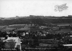 Wotton-Under-Edge, From Wotton Hill 1903