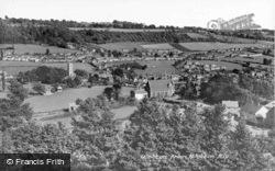 From Wotton Hill c.1950, Wotton-Under-Edge