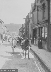 Wotton-Under-Edge, Horse And Trap, Long Street 1897