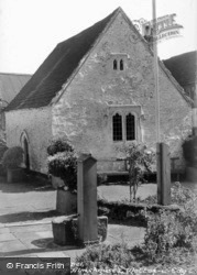 Hugh Perry Almshouses c.1950, Wotton-Under-Edge