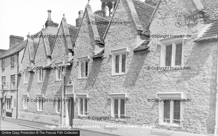 Photo of Wotton Under Edge, Hugh Perry Almshouses c.1950