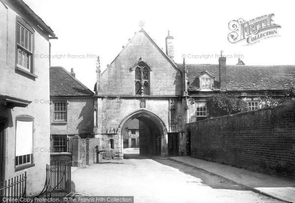 Photo of Wotton Under Edge, Kingswood Abbey 1897