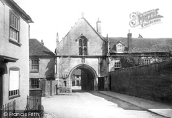 Wotton-Under-Edge, Kingswood Abbey 1897