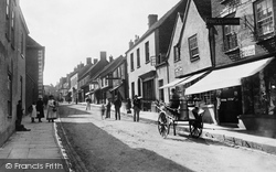 Wotton-Under-Edge, Long Street 1897