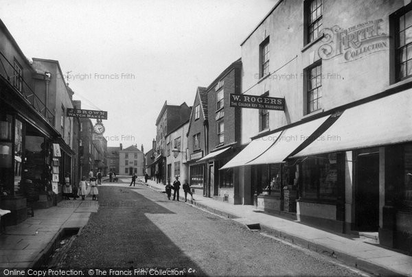 Photo of Wotton Under Edge, Long Street 1897