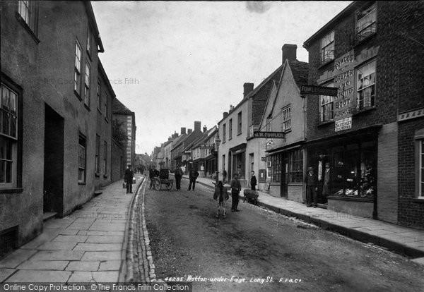 Photo of Wotton Under Edge, Long Street 1900