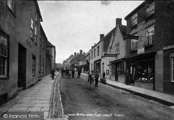 Wotton-Under-Edge, Long Street 1900