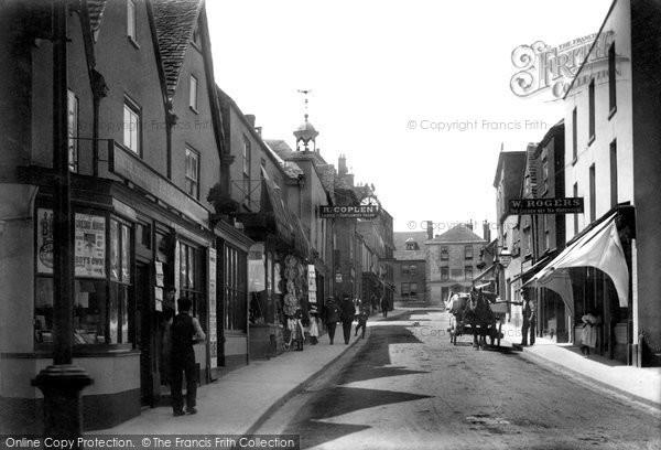 Photo of Wotton Under Edge, Long Street 1903
