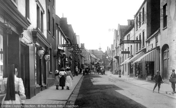 Photo of Wotton Under Edge, Long Street 1903