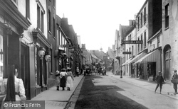 Wotton-Under-Edge, Long Street 1903