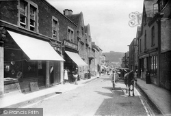 Wotton-Under-Edge, Long Street Looking Down 1897