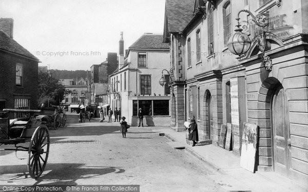 Photo of Wotton Under Edge, Market Street 1897