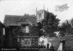 Wotton-Under-Edge, Potters Pond And Church Tower 1903