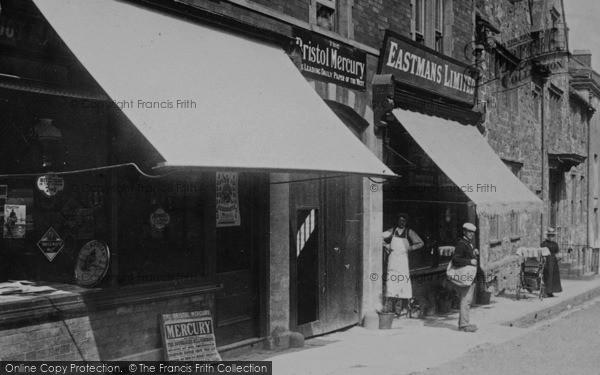 Photo of Wotton Under Edge, Shops In Long Street 1897