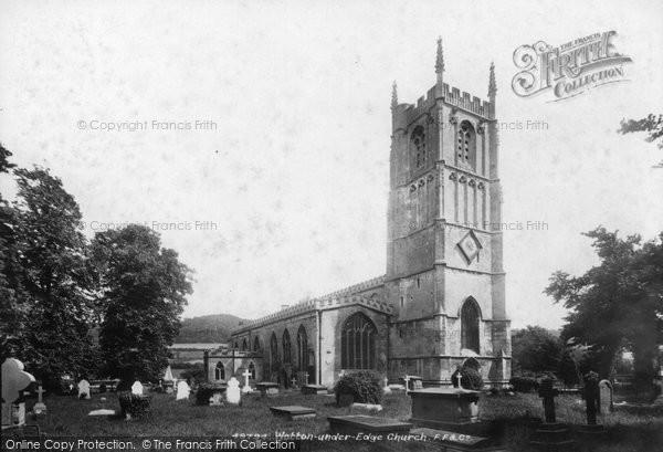 Photo of Wotton Under Edge, St Mary's Church 1903