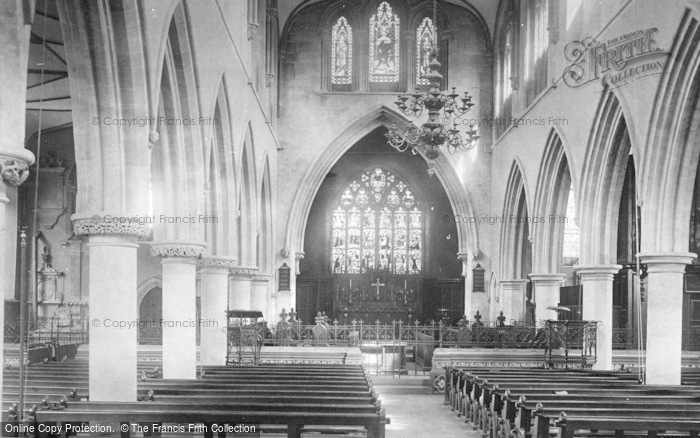 Photo of Wotton Under Edge, St Mary's Church, Nave East 1903