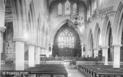 Wotton-Under-Edge, St Mary's Church, Nave East 1903