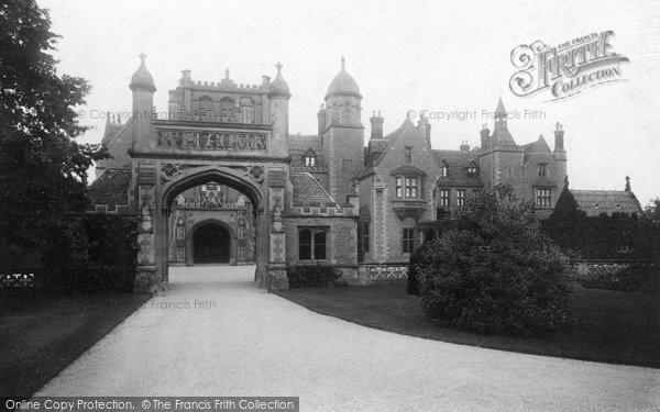 Wotton-Under-Edge, Tortworth Court 1897