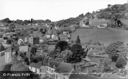 View From Church Tower c.1950, Wotton-Under-Edge