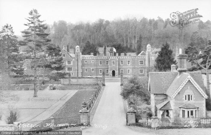 Photo of Wotton, Wotton House c.1955