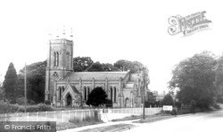 Wragby, All Saints Church c.1965
