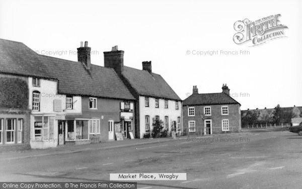 Photo of Wragby, Market Place c.1950