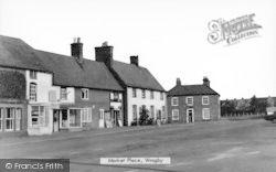 Wragby, Market Place c.1950