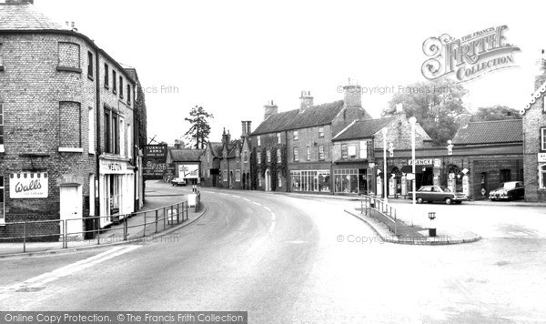 Photo of Wragby, Market Place c.1965