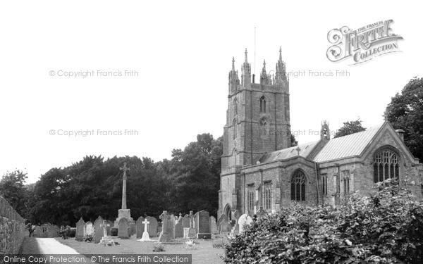 Photo of Wraxall, All Saints Church c.1955