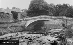 Wray, The Bridge And River c.1955