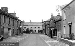 Wray, The Post Office And Wray House c.1950