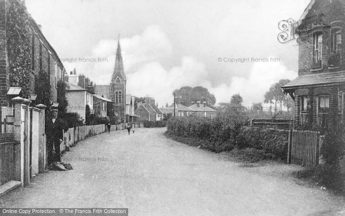 Photo of Wraysbury, High Street 1904