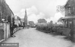 Wraysbury, High Street 1904