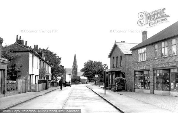 Photo of Wraysbury, High Street c.1955