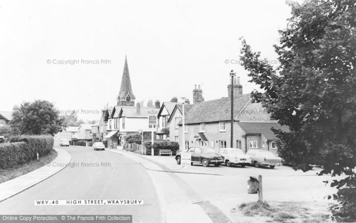 Photo of Wraysbury, High Street c.1965