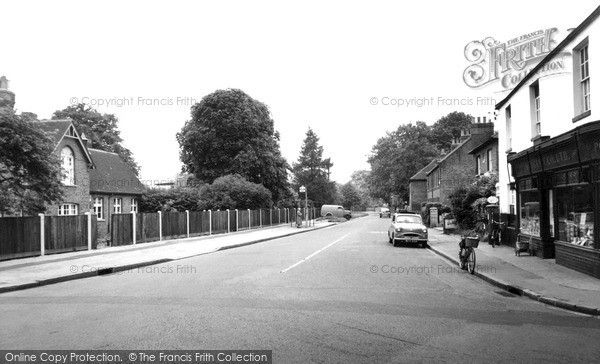 Photo of Wraysbury, School And Staines Road c.1955