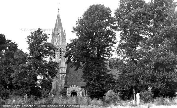 Photo of Wraysbury, St Andrew's Church c.1955